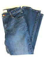 Levi Strauss Jeans Signature Mid Rise Bootcut Blue Denim - Women Misses 10 Short
