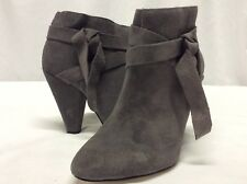 $129 Retail Nine West Women's Boots.Nine West Acesso Bootie Dark Gray Suede Sz 6
