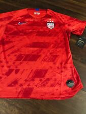 New Nike Women's USA Soccer Breathe Jersey Size Large Red Blue