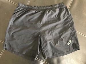 Aasics Shorts Mens Size L Black
