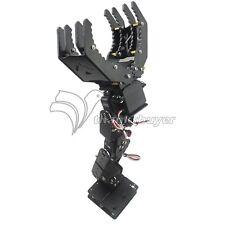 6DOF Robot Mechanical Arm Hand Clamp Claw Manipulator Frame Kit for Arduino DIY