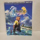 Final Fantasy X 10 Official Brady Games Strategy Guide 2001 Squaresoft