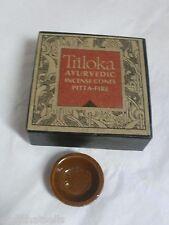 Triloka Ayurvedic Incense Cones -  Pitta - Fire