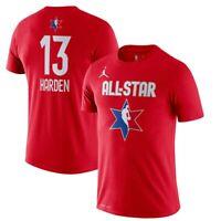Jordan Nike Mens James Harden Houston Rockets All Star Jersey #34 T-Shirt XL NEW