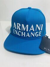 New Armani Exchange AX Mens SNAPBACK CAP