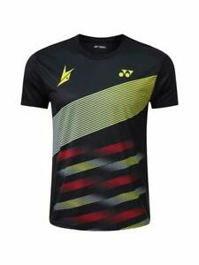 Men Badminton T-Shirts table tennis clothes Polyester Breathable Sport Tops