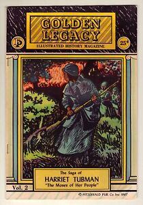 Golden Legacy #2 - Harriet Tubman - 1967 Fitzgerald - Black History Fn/VFn (7.0)