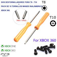 DESTORNILLADORES TORX T8 - T10 PARA ABRIR CONSOLAS XBOX 360 - PS3 SLIM Y FAT+ 10