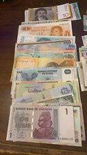 Lotto 100 Banconote Mondiali Differenti In Fds