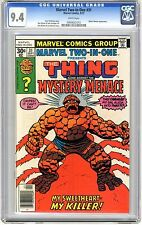 Marvel Two-In-One #31 CGC 9.4  NM+  wht pgs Early Spider-Woman App. 9/77 R.Wilso