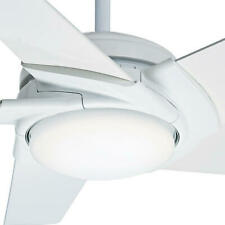 "Casablanca 59091 - 54"" Contemporary Stealth Indoor Ceiling Fan, Snow White"