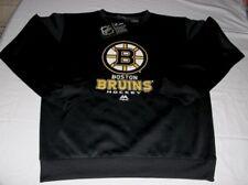 Boston Bruins Crew Neck Sweatshirt Youth Large 10-12 Black Majestic NHL
