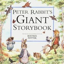 Peter Rabbit's Giant Storybook by Beatrix Potter c2000 VGC Hardcover, Ships Free