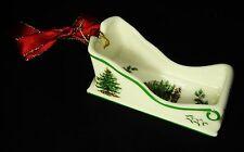 Spode Christmas Tree Sleigh Collectible Ornament Holiday