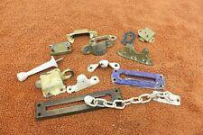 Lot of Vintage Door Locks Accessories & Other Old Door Hardware 13 Pieces M49
