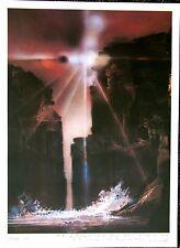 Sun Canyon - A Robert Peak open edition print Spirit of Sports Wilt Chamberlain