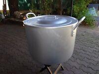 FAITOUT MARMITE GEANTE  80 L aluminium Grande cuve ideal brassage  professionel
