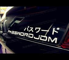PASSWORD Japan JDM Vinyl Car Decal sticker