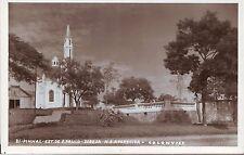 Brazil Brasil Pinhal Est. de Sao Paulo Igreja N.S. Aparecida real photo postcard
