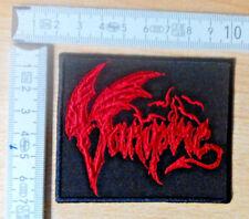 Vampiri RARE Woven Patch death Cannibal Corpse Morbid Angel possessed Deicide