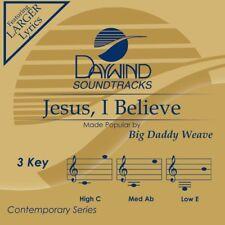 Big Daddy Weave - Jesus I Believe -  Accompaniment/Performance Track - New CD
