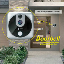 Wireless Door Bell Camera 720P Battery Video Security Bell Free APP Waterproof
