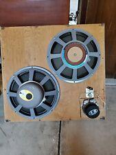 JBL D140R PR15R & 075 Tweeter Speakers