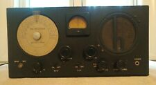 Vtg Sky Buddy by Hallicrafters Recvr HAM Shortwave Radio Serial# 117757 Untested
