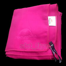 Pink Anti-Bacterial Soft Extremely Compact Microfiber Towel Travel Swimming Yoga