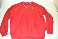 ASHWORTH GOLF RED WIND RAIN WEATHER JACKET MENS SIZE XL
