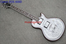 NEW BRAND Electric Guitar With Engraved Aluminum Top