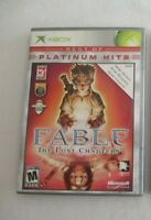 Fable The Lost Chapters Platinum Hits Microsoft Xbox Video Game Complete