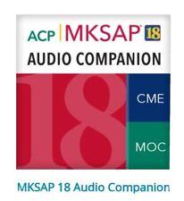 Medical Knowledge Self Assessment Audio Companion 18 Part A & Part B ABIM + Q&A