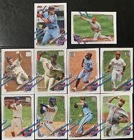 2021 Topps Series 1 Philadelphia Phillies Team Set Alec Bohm RC Harper 10 Cards