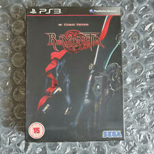 Bayonetta Climax Edition PS3 Limited PAL UK Complete