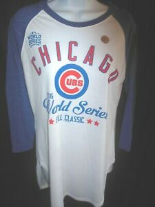 Chicago Cubs MLB Women's G-III  4/Her Shirt Large or XL