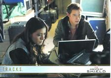 Agents Of Shield Season 1 Gold Parallel Base Card #42 T.R.A.C.K.S.