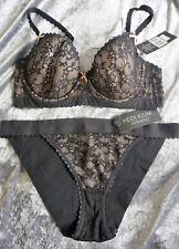 SZ 10DD / 32DD RRP $109.90 Heidi Klum Sheer Infinity Bra & Bikini brief set (S)