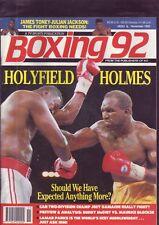 RIVISTA BOXE PUGILATO 92 HOLYFIELD e Holmes su COVER
