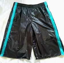 """Design your own"" glossy Pertex BASKETBALL SHORTS (Choose colour, size & trim)"