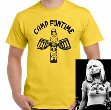 CAMP FUNTIME T-SHIRT Blondie as Worn by Debbie Harry 70s Music Band TEE TOP