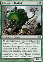 Vitaspore Thallid - Foil - Planar Chaos - Light Play, English MTG Magic FLAT RAT