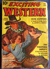 Exciting Western Pulp Magazine - First Issue! - Fall 1940