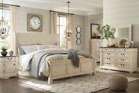 Ashley Furniture Bolanburg Queen 6 Piece Bedroom Set