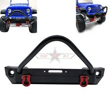 AXIAL SCX10 II Jeep CNC METAL Front Bumper Bull Bar For RC 1/10 Crawler TRUCK