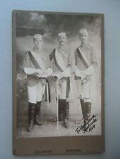 Original-fotografia studentica Karlsruhe 1904 bel ragazzo gambale Fridericiana PHOTO