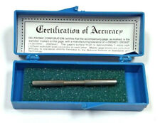 01908 Deltronic Class X Plug Gage With Certificate Of Accuracy