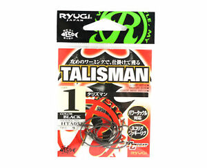 Ryugi HTA053 Talisman Neko Hook Size 1 (8558)