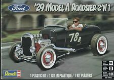 Revell 1929 Ford Model a Roadster 1 25 85-4463 Plastic Model Kit