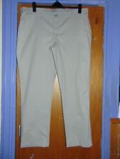 """'Riders' by Lee Cotton Rich Straight Leg Chinos Jeans UK26 L33"""" Natural BNWoT"""